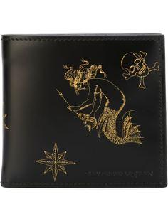 бумажник с принтом Alexander McQueen