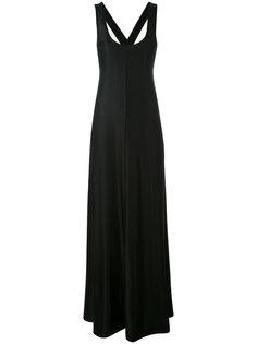 платье с перекрестной спинкой  DKNY
