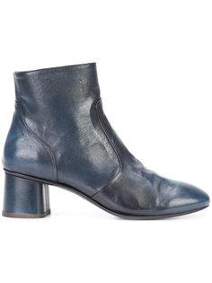 ботинки на широком каблуке Silvano Sassetti