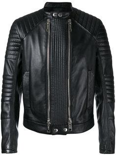 куртка с двумя молниями  Les Hommes