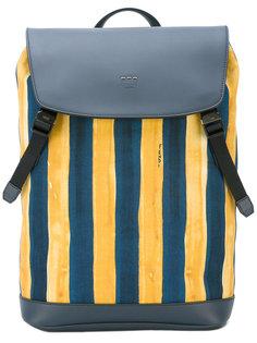 полосатый рюкзак watercolour  Fendi