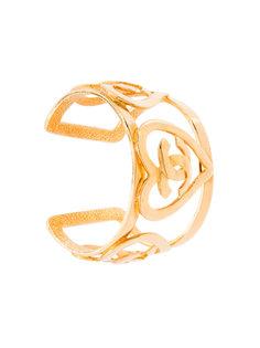 браслет с сердцами и логотипом СС Chanel Vintage