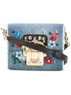джинсовая сумка с кристаллами Dolce & Gabbana
