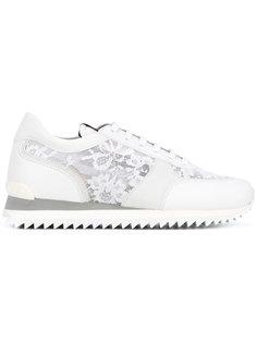 кроссовки с кружевными панелями Le Silla