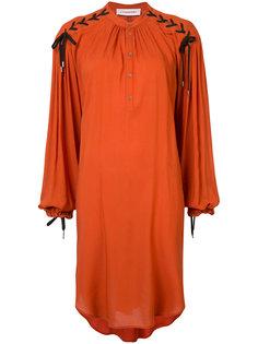 платье со шнуровкой на плечах A.F.Vandevorst