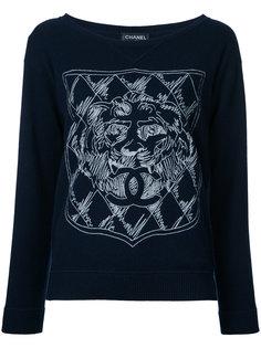 свитер с длинными рукавами  Chanel Vintage