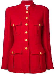 куртка с длинными рукавами и логотипом CC на пуговицах  Chanel Vintage