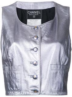 жилет без рукавов Chanel Vintage