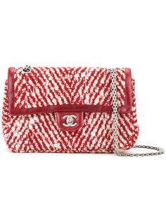 твидовая сумка на плечо  Chanel Vintage