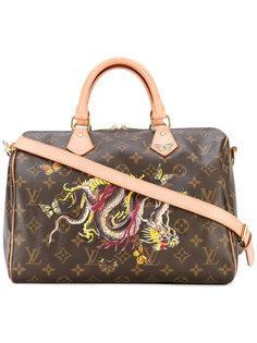 сумка-тоут с драконом и бабочками Speedy Louis Vuitton Vintage