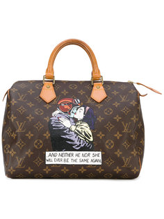 сумка-тоут с принтом Speedy Louis Vuitton Vintage