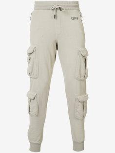 спортивные брюки-карго Off-White
