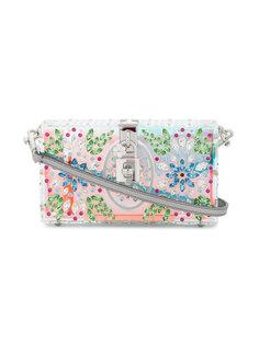 клатч декорированный кристаллами  Dolce & Gabbana