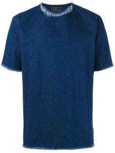 джинсовая футболка Carmine Paura
