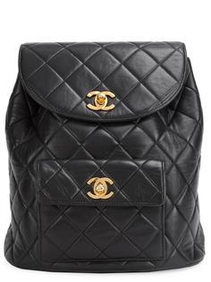 стеганый мини-рюкзак СС Chanel Vintage
