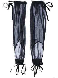 перчатки без пальцев на завязках Ann Demeulemeester