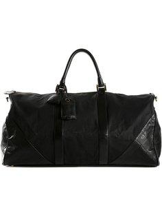 сумка holdall с панельным дизайном Chanel Vintage