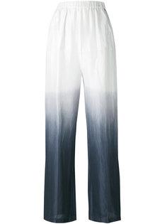 брюки с эффектом омбре Twin-Set