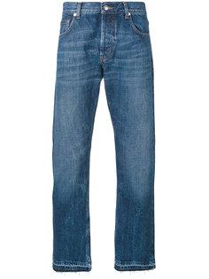 прямые джинсы Alexander McQueen