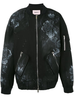 куртка-бомбер с цветочным рисунком Marna Ro