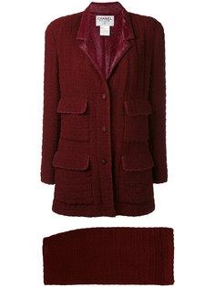 объемный твидовый костюм 1998 года выпуска Chanel Vintage
