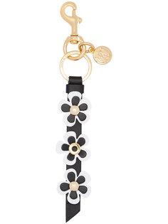 брелок для ключей с цветами Moschino