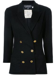 винтажный пиджак с длинными рукавами Chanel Vintage
