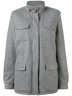 короткое пальто с карманами Loro Piana