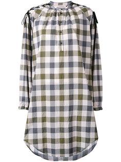 клетчатое платье-рубашка A.F.Vandevorst