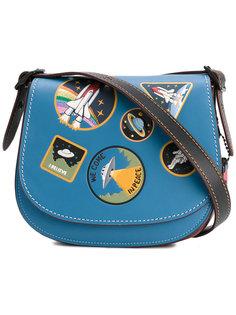 сумка на плечо с нашивками Space Coach