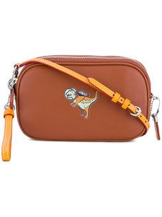 сумка через плечо с принтом динозавра Coach