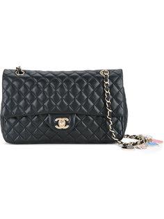 сумка на плечо с двойной цепочкой Valentine Chanel Vintage