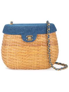 сумка на плечо с логотипом CC Chanel Vintage