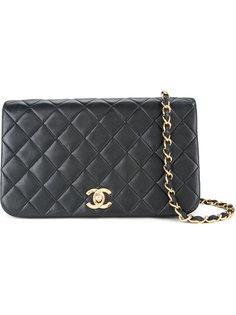 стеганая сумка на плечо с клапаном Full Chanel Vintage
