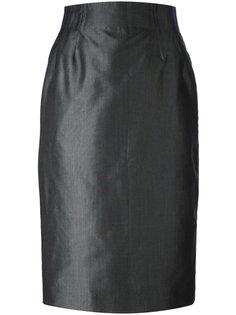 высокая юбка-карандаш Christian Dior Vintage