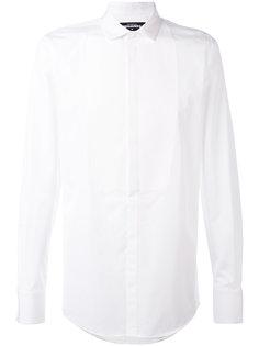 рубашка-смокинг строгого кроя Dsquared2