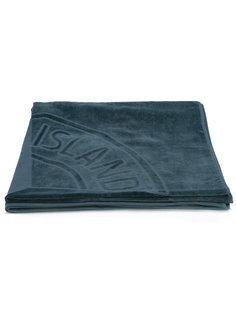 пляжное полотенце с логотипом бренда Stone Island