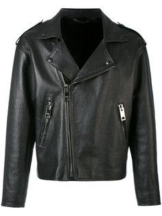 классическая байкерская куртка  Liska