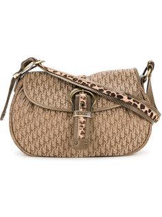 сумка на плечо с леопардовым принтом  Christian Dior Vintage