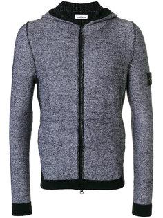 block panel zip hoodie Stone Island