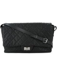 стеганая сумка на плечо с логотипом CC Chanel Vintage