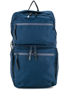 210D nylon twill square backpack As2ov