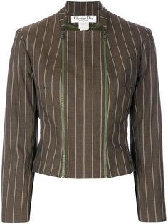 пиджак в тонкую полоску  Christian Dior Vintage