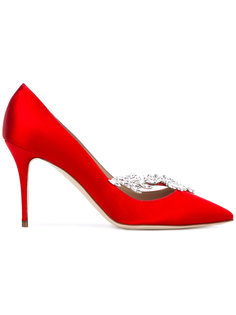 туфли с кристаллами Nadira Manolo Blahnik