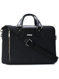 contrast panel briefcase  Baldinini
