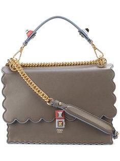 сумка Kan I с волнистой окантовкой Fendi