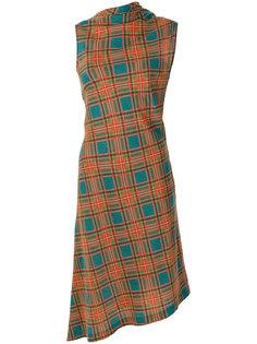 платье с принтом тартан  Jean Paul Gaultier Vintage