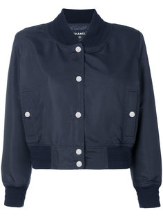укороченная куртка бомбер Chanel Vintage