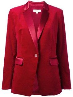 бархатный пиджак-смокинг Michael Kors