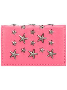 кошелек декорированный звездами Jimmy Choo